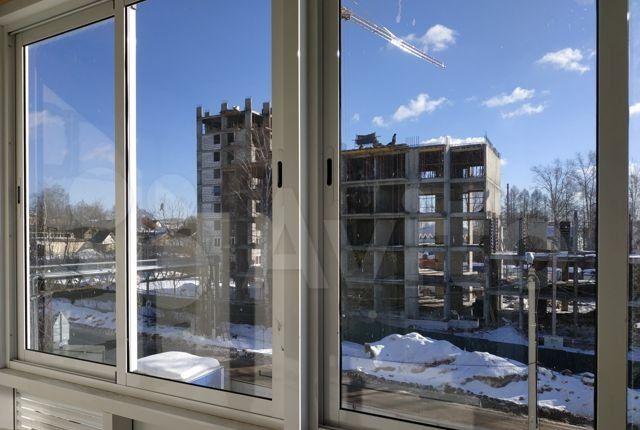 Аренда однокомнатной квартиры Хотьково, Октябрьская улица 1В, цена 12000 рублей, 2021 год объявление №1310073 на megabaz.ru