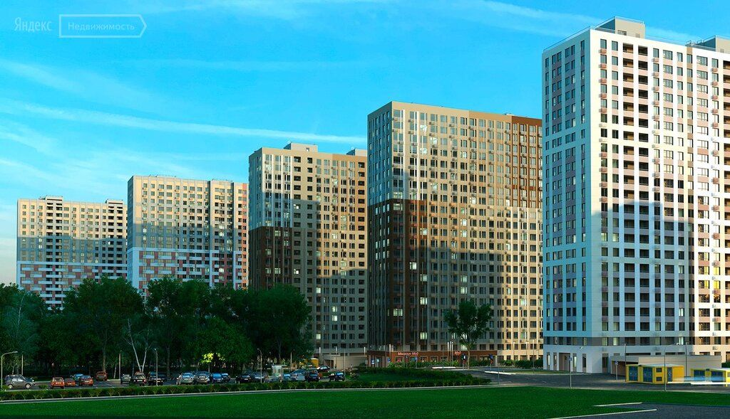 Продажа двухкомнатной квартиры рабочий поселок Новоивановское, бульвар Эйнштейна 3, цена 8300000 рублей, 2021 год объявление №572109 на megabaz.ru