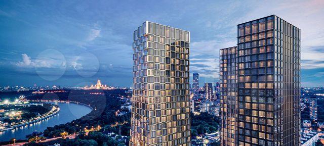 Продажа трёхкомнатной квартиры Москва, метро Студенческая, цена 33750000 рублей, 2021 год объявление №556354 на megabaz.ru