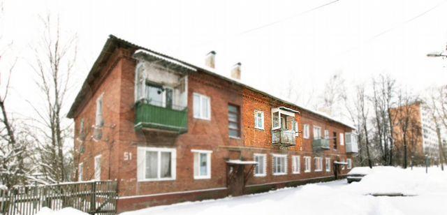 Продажа двухкомнатной квартиры Волоколамск, Пороховская улица 10, цена 1590000 рублей, 2021 год объявление №577257 на megabaz.ru