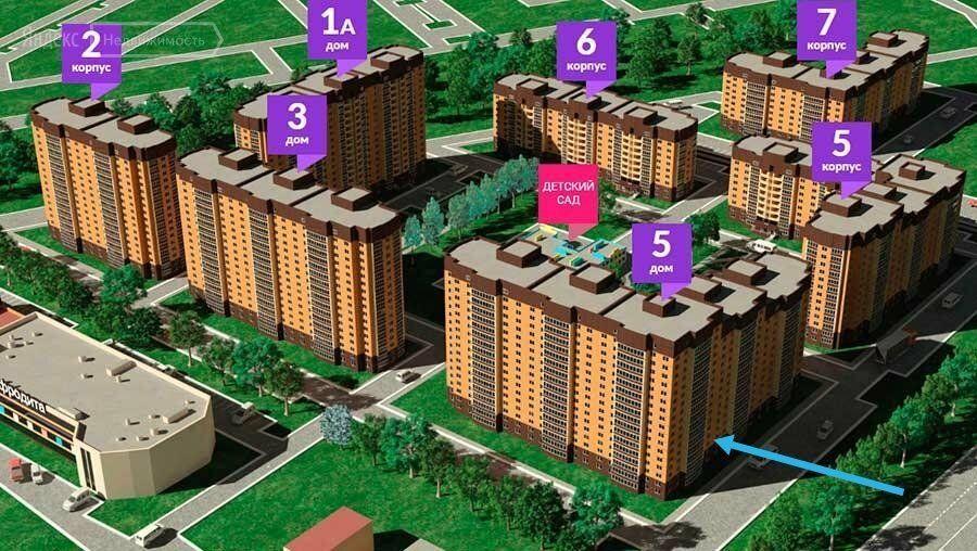Продажа однокомнатной квартиры поселок Мебельной фабрики, метро Медведково, Заречная улица к5, цена 4500000 рублей, 2021 год объявление №557807 на megabaz.ru