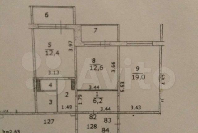 Продажа двухкомнатной квартиры поселок ВНИИССОК, улица Дружбы 9, цена 7700000 рублей, 2021 год объявление №571667 на megabaz.ru