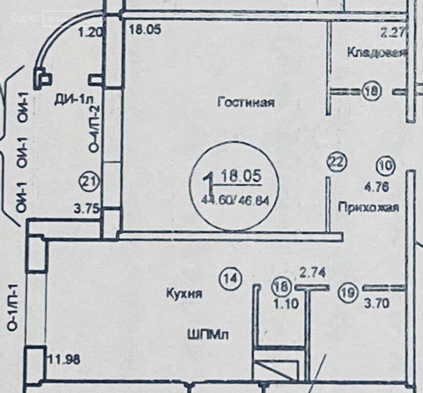 Продажа однокомнатной квартиры поселок Развилка, метро Домодедовская, цена 7850000 рублей, 2021 год объявление №559357 на megabaz.ru