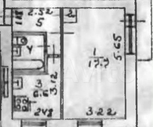 Продажа однокомнатной квартиры Фрязино, Школьная улица 11, цена 2050000 рублей, 2021 год объявление №580491 на megabaz.ru