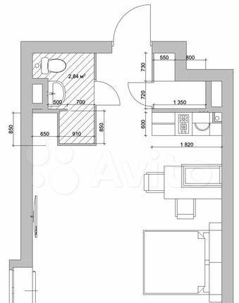 Продажа однокомнатной квартиры Москва, метро Калужская, цена 9700000 рублей, 2021 год объявление №579047 на megabaz.ru