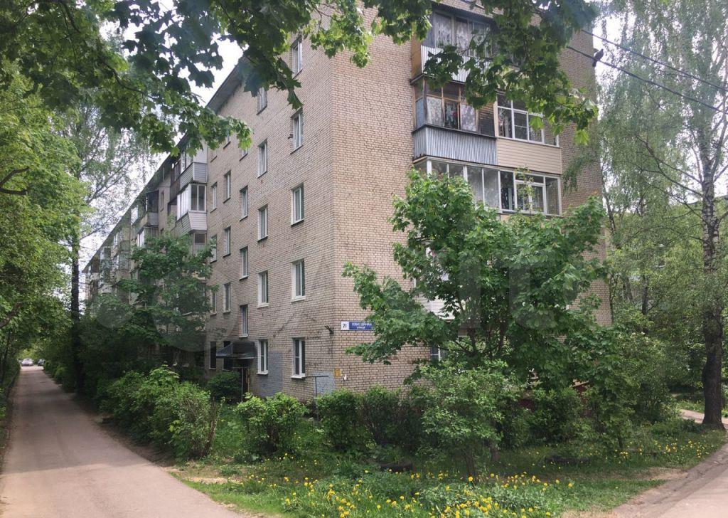 Продажа двухкомнатной квартиры Истра, Юбилейная улица 21, цена 5500000 рублей, 2021 год объявление №655738 на megabaz.ru
