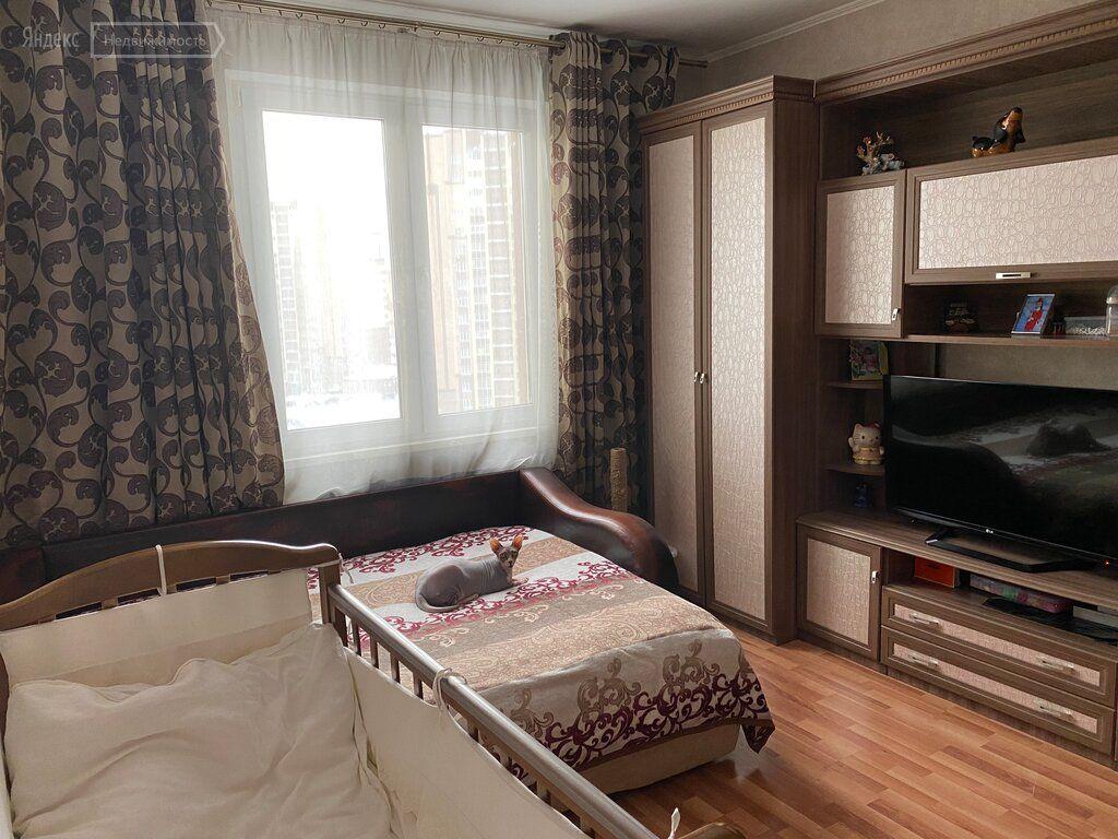 Продажа однокомнатной квартиры Домодедово, улица Курыжова 15к1, цена 4950000 рублей, 2021 год объявление №580098 на megabaz.ru