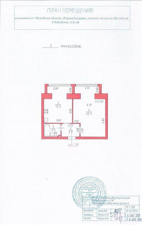 Продажа студии деревня Павловское, цена 3600000 рублей, 2021 год объявление №563681 на megabaz.ru