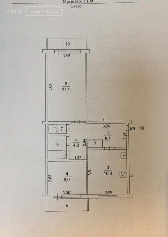 Продажа двухкомнатной квартиры деревня Нестерово, цена 1700000 рублей, 2021 год объявление №572727 на megabaz.ru