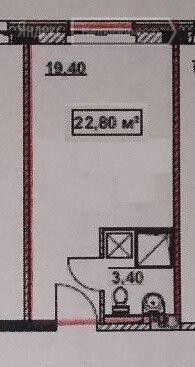 Продажа студии Москва, Востряковское шоссе 7с1, цена 5600000 рублей, 2021 год объявление №565366 на megabaz.ru