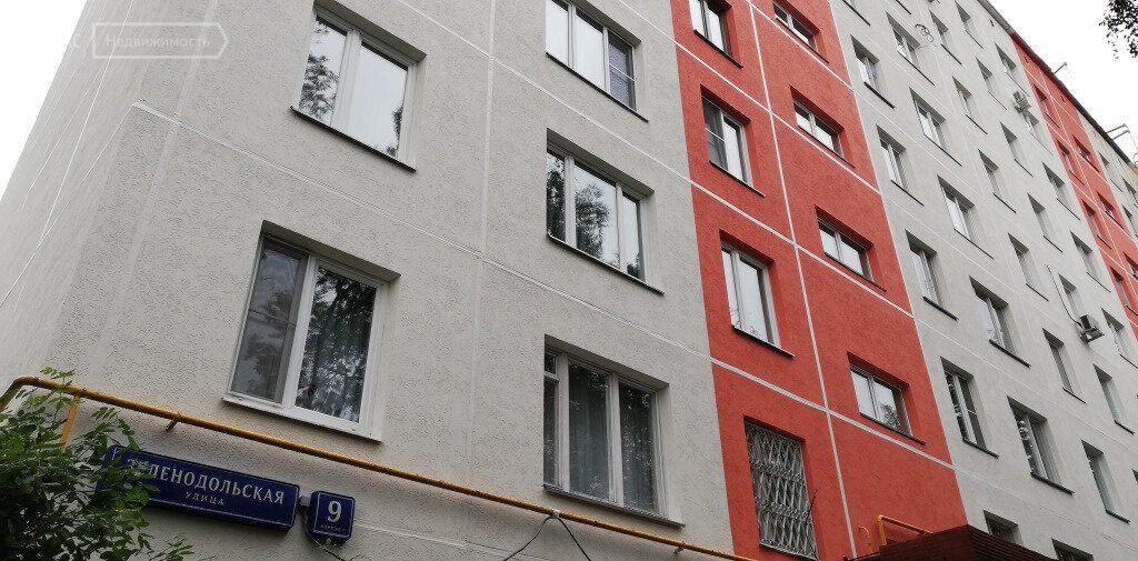 Продажа двухкомнатной квартиры Москва, метро Рязанский проспект, Зеленодольская улица 9к1, цена 7360000 рублей, 2021 год объявление №573084 на megabaz.ru