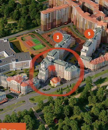 Продажа однокомнатной квартиры поселок Развилка, метро Зябликово, цена 6700000 рублей, 2021 год объявление №582086 на megabaz.ru