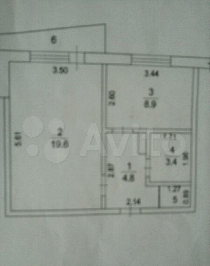 Продажа однокомнатной квартиры поселок Колюбакино, улица Попова 16В, цена 2100000 рублей, 2021 год объявление №557941 на megabaz.ru