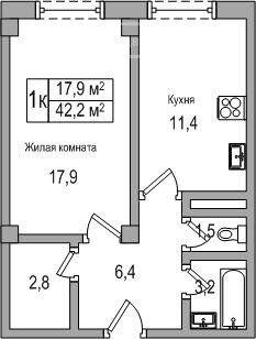 Аренда однокомнатной квартиры деревня Большие Жеребцы, метро Щелковская, цена 16500 рублей, 2021 год объявление №1332679 на megabaz.ru