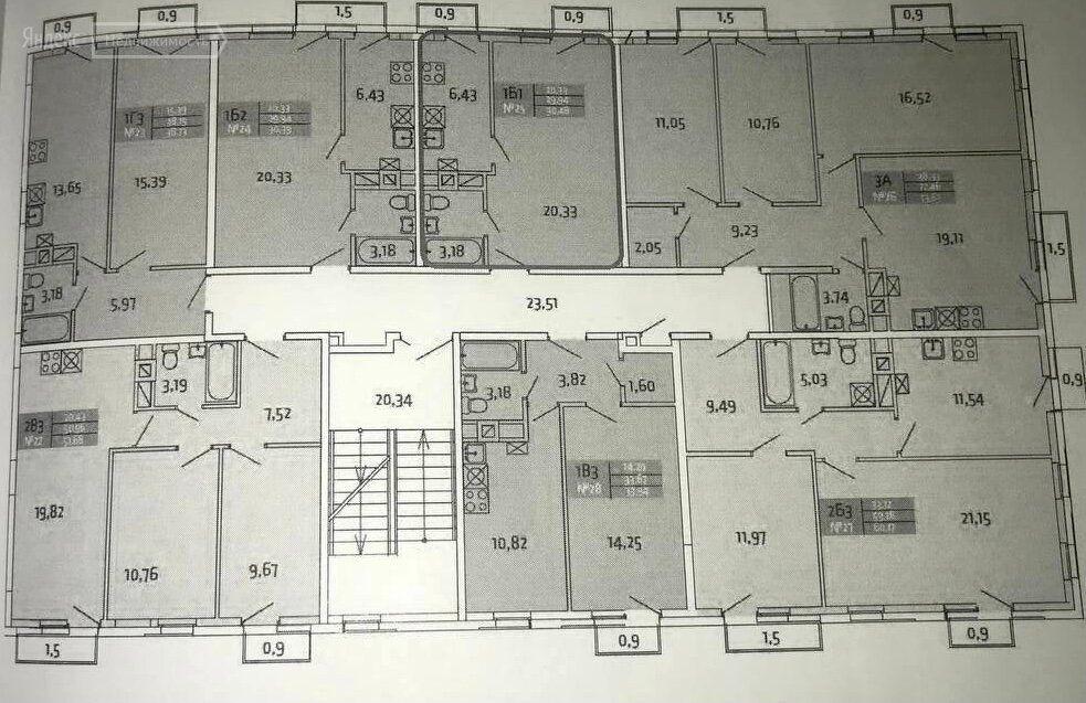Продажа однокомнатной квартиры поселок Мещерино, метро Домодедовская, цена 3550000 рублей, 2021 год объявление №584542 на megabaz.ru