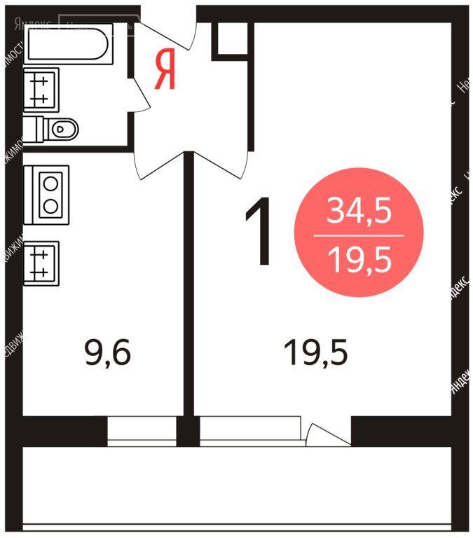 Продажа однокомнатной квартиры Москва, метро Кунцевская, Инициативная улица 9к2, цена 8600000 рублей, 2021 год объявление №580231 на megabaz.ru