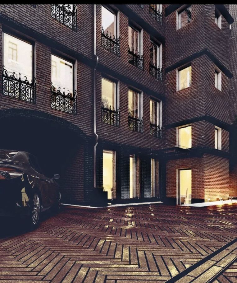 Продажа трёхкомнатной квартиры Москва, метро Сретенский бульвар, Уланский переулок 13с4, цена 60580000 рублей, 2021 год объявление №567618 на megabaz.ru