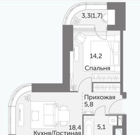 Продажа однокомнатной квартиры Москва, метро Ботанический сад, улица Вильгельма Пика 3, цена 9050000 рублей, 2021 год объявление №569678 на megabaz.ru