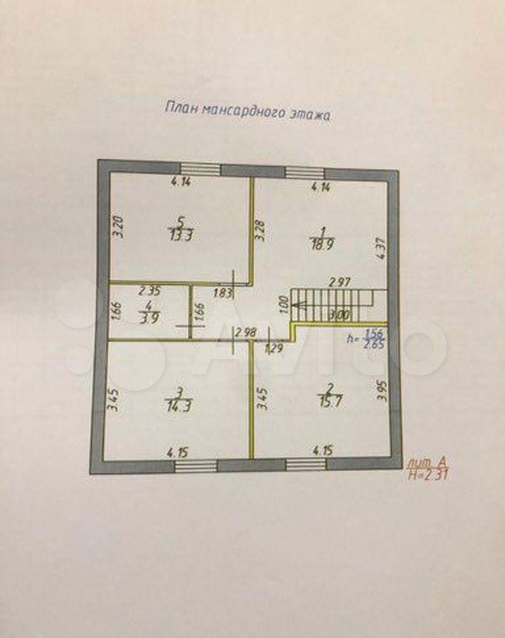 Продажа дома село Речицы, Садовая улица 60А, цена 4900000 рублей, 2021 год объявление №531699 на megabaz.ru