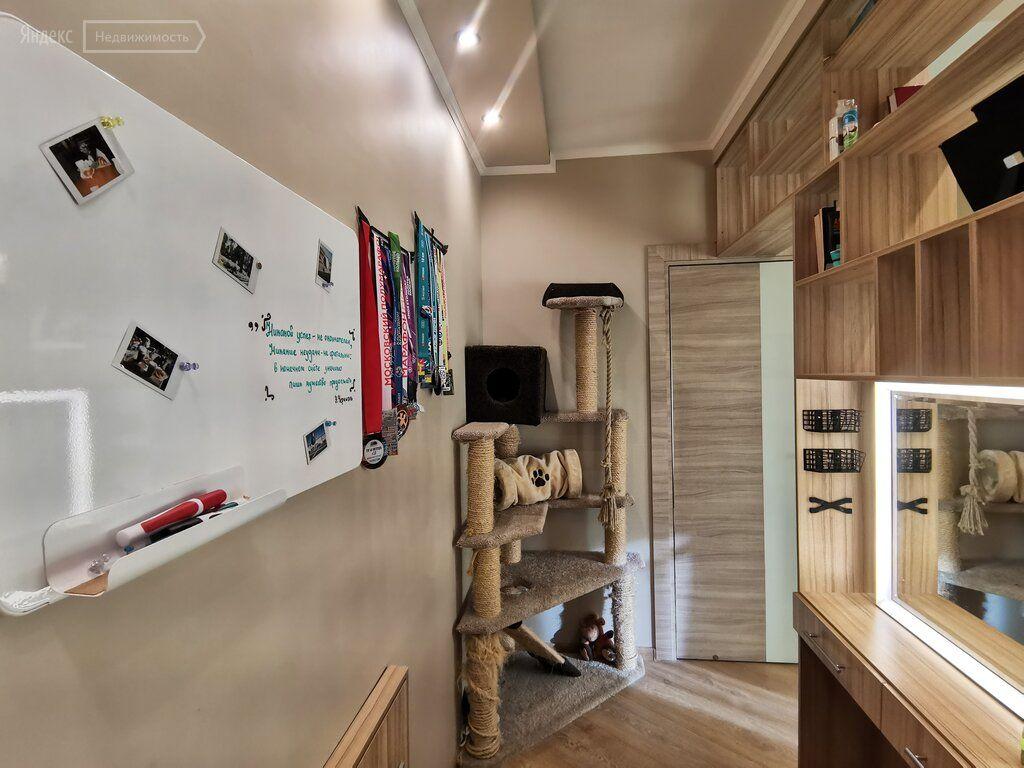 Продажа однокомнатной квартиры дачный посёлок Лесной Городок, цена 6200000 рублей, 2021 год объявление №571097 на megabaz.ru