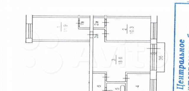 Продажа трёхкомнатной квартиры Москва, метро Улица 1905 года, улица Заморёнова 40, цена 15300000 рублей, 2021 год объявление №557967 на megabaz.ru