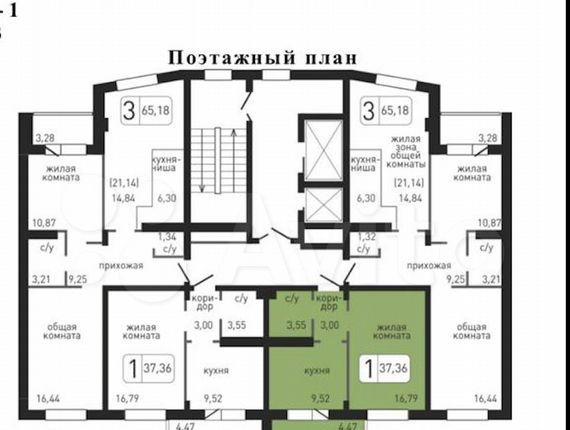 Аренда однокомнатной квартиры Ивантеевка, Хлебозаводская улица 2, цена 19000 рублей, 2021 год объявление №1332403 на megabaz.ru