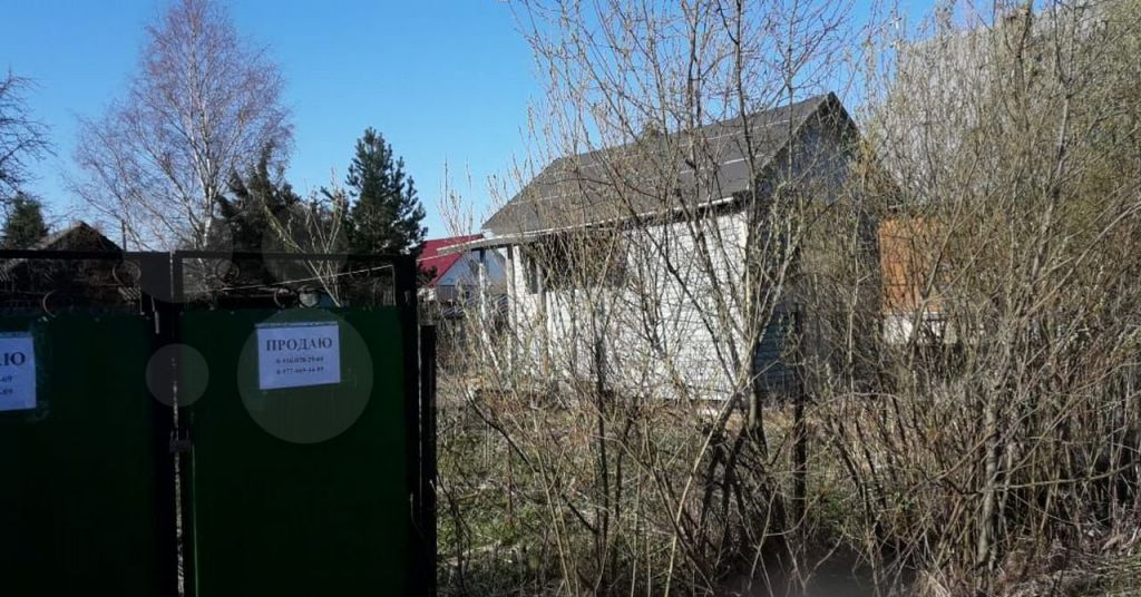 Продажа дома садовое товарищество Заря, цена 150000 рублей, 2021 год объявление №603159 на megabaz.ru