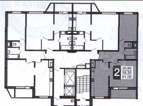 Аренда двухкомнатной квартиры село Домодедово, улица Творчества 7, цена 30000 рублей, 2021 год объявление №1334729 на megabaz.ru