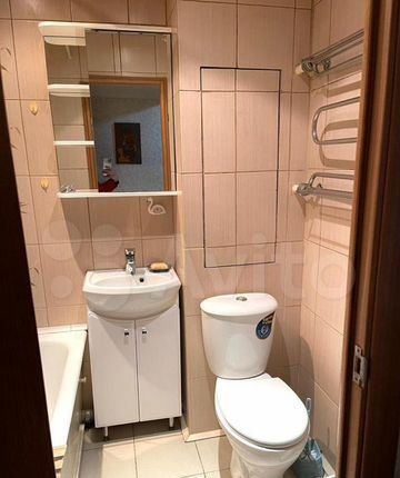 Аренда однокомнатной квартиры поселок Лунёво, Гаражная улица 8, цена 22000 рублей, 2021 год объявление №1332431 на megabaz.ru