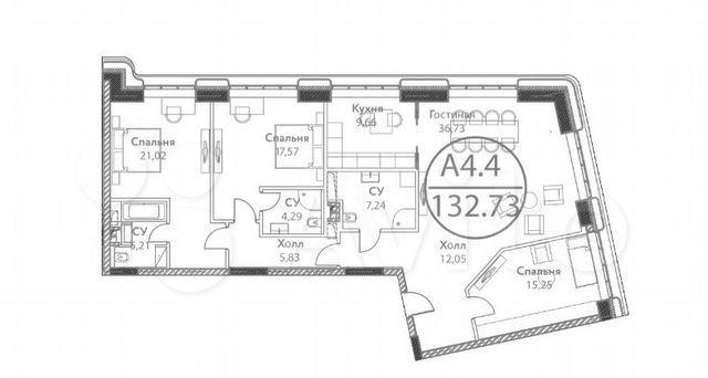 Продажа четырёхкомнатной квартиры Москва, метро Динамо, цена 37000000 рублей, 2021 год объявление №576368 на megabaz.ru
