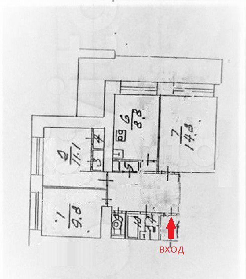 Продажа трёхкомнатной квартиры Пущино, цена 4150000 рублей, 2021 год объявление №667042 на megabaz.ru