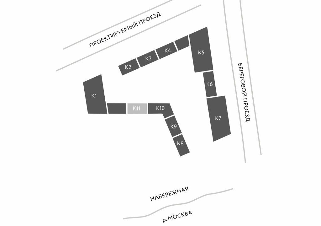 Продажа однокомнатной квартиры Москва, метро Фили, Береговой проезд 3к1, цена 17000000 рублей, 2021 год объявление №583446 на megabaz.ru