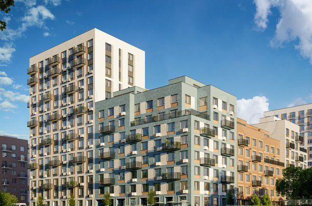 Продажа двухкомнатной квартиры деревня Сапроново, цена 11850000 рублей, 2021 год объявление №578021 на megabaz.ru