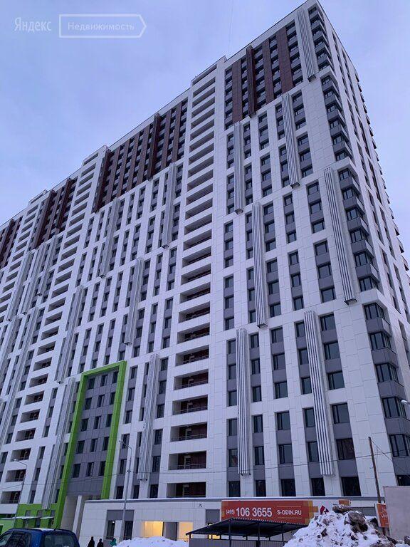 Продажа однокомнатной квартиры Одинцово, Вокзальная улица 31, цена 4700000 рублей, 2021 год объявление №578352 на megabaz.ru