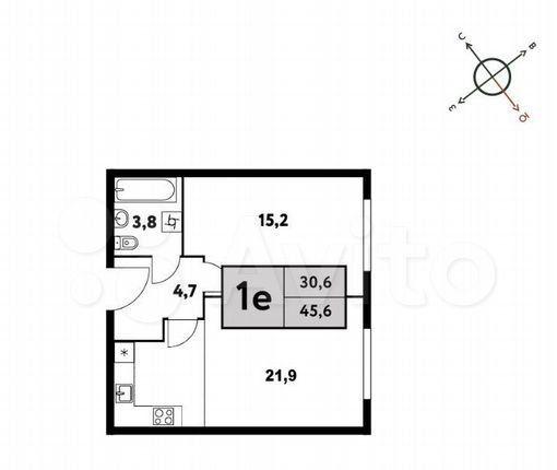 Продажа однокомнатной квартиры Москва, метро Речной вокзал, цена 12600000 рублей, 2021 год объявление №579046 на megabaz.ru