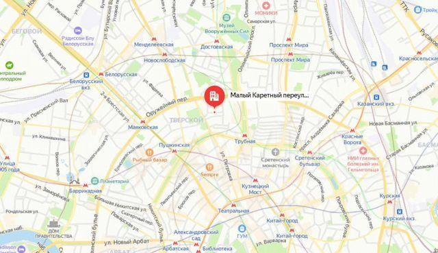 Продажа студии Москва, метро Цветной бульвар, Малый Каретный переулок 9с1, цена 9990000 рублей, 2021 год объявление №579501 на megabaz.ru