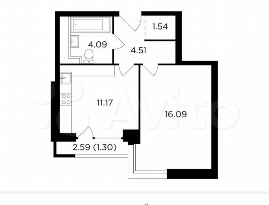 Продажа однокомнатной квартиры Москва, метро Автозаводская, Восточная улица 4Ак1, цена 15000000 рублей, 2021 год объявление №605917 на megabaz.ru