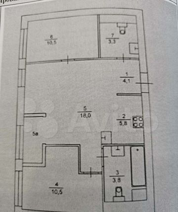 Продажа трёхкомнатной квартиры рабочий посёлок Заречье, Медовая улица 3, цена 15900000 рублей, 2021 год объявление №580067 на megabaz.ru