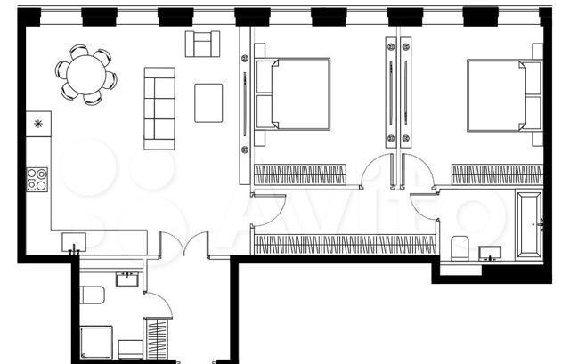 Продажа двухкомнатной квартиры Москва, метро Электрозаводская, цена 24768000 рублей, 2021 год объявление №562359 на megabaz.ru