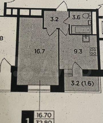 Продажа однокомнатной квартиры Пушкино, цена 5950000 рублей, 2021 год объявление №598006 на megabaz.ru