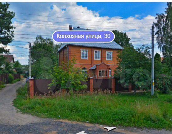 Продажа дома Пушкино, Колхозная улица 36, цена 2550000 рублей, 2021 год объявление №580319 на megabaz.ru