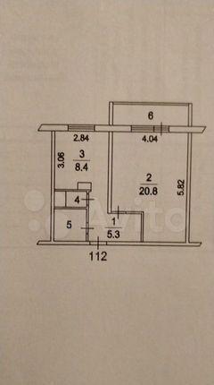 Продажа однокомнатной квартиры Котельники, цена 7200000 рублей, 2021 год объявление №580304 на megabaz.ru