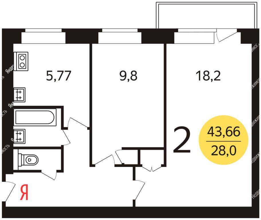 Продажа двухкомнатной квартиры Москва, метро Речной вокзал, Ленинградское шоссе 74, цена 9900000 рублей, 2021 год объявление №580318 на megabaz.ru