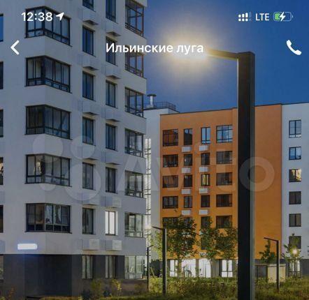 Продажа студии поселок Ильинское-Усово, Архангельская улица 2, цена 4150000 рублей, 2021 год объявление №581636 на megabaz.ru