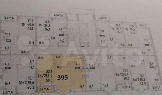 Продажа двухкомнатной квартиры рабочий посёлок Свердловский, Молодёжная улица 4, цена 5150000 рублей, 2021 год объявление №580371 на megabaz.ru