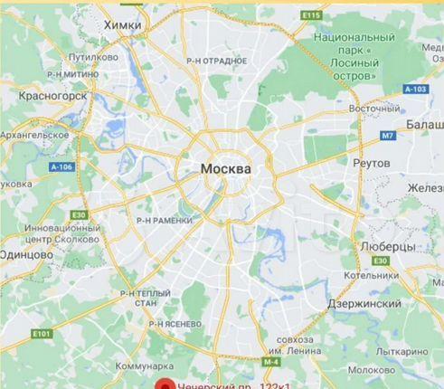 Продажа студии Москва, метро Бунинская аллея, Чечёрский проезд 122к2, цена 3300000 рублей, 2021 год объявление №580347 на megabaz.ru