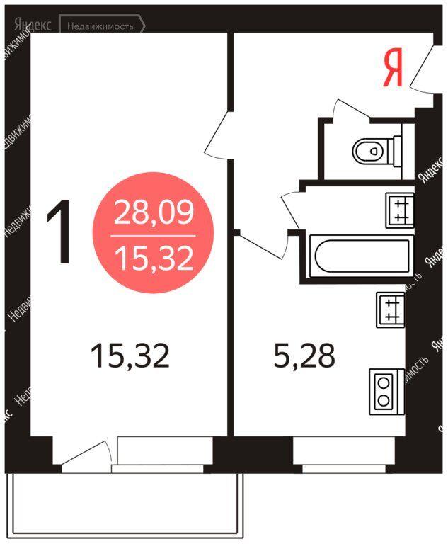 Продажа однокомнатной квартиры Москва, метро Водный стадион, Головинское шоссе 8А, цена 8200000 рублей, 2021 год объявление №580757 на megabaz.ru