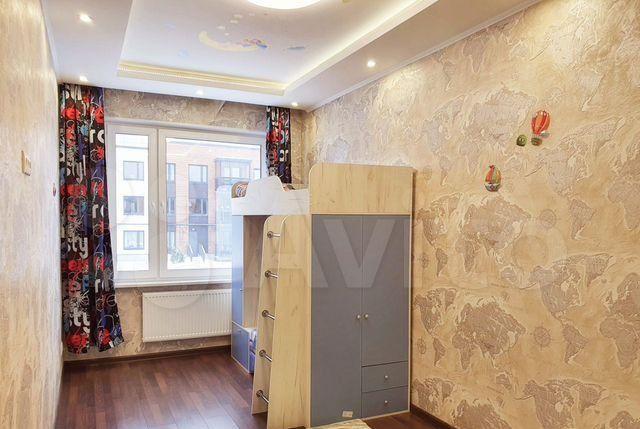 Аренда трёхкомнатной квартиры деревня Красный Поселок, улица Конюхова 11, цена 50000 рублей, 2021 год объявление №1342470 на megabaz.ru