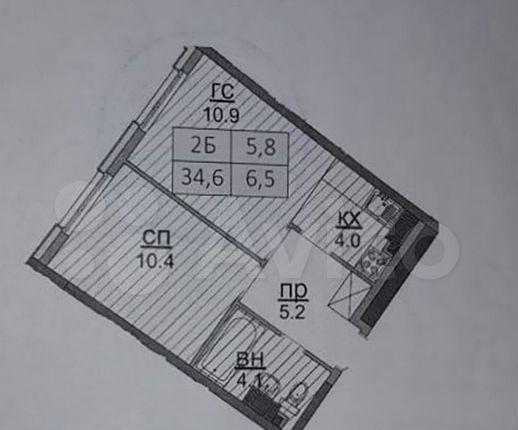 Продажа студии посёлок Коммунарка, Бачуринская улица 13, цена 7000000 рублей, 2021 год объявление №581945 на megabaz.ru