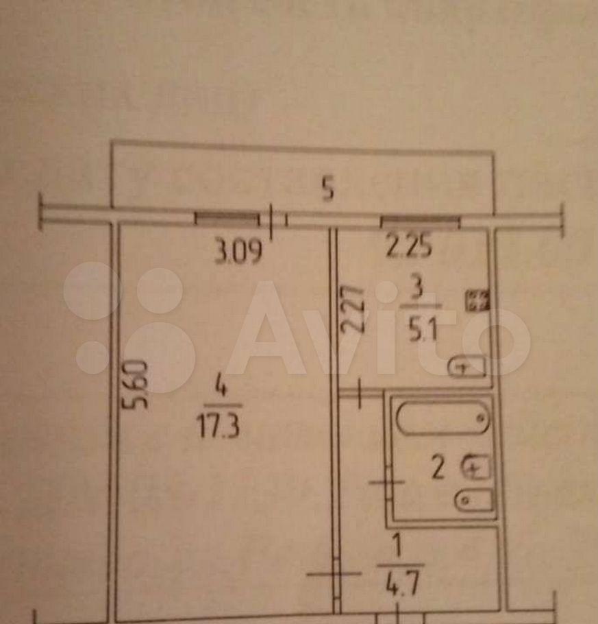 Продажа однокомнатной квартиры село Атепцево, Речная улица 4, цена 2900000 рублей, 2021 год объявление №704007 на megabaz.ru
